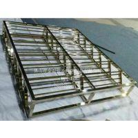 高档不锈钢展示架 金属货柜架 不锈钢货柜展示架 展示柜 可定制