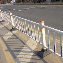 锌钢马路甲型护栏 广州市政隔离围栏价格 佛山道路防撞围栏现货