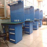 天津装备工作台 防静电桌面 榉木台面生产定做厂家