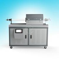【滑轨式微波管式炉】微波CVD系统,快速升降温,长仪微波厂家直销价格
