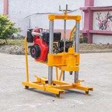柴油版混凝土取芯机 鲁恒供应路面钻孔机 公路钻孔取芯设备