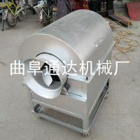 多功能花生炒料机 电加热型滚筒炒货机 通达牌 碳加热翻炒机 热销