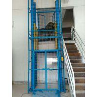 安陆电动货梯价格 优质2吨货物平台定做 导轨固定式升降台 航天机械