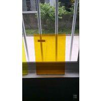 防紫外线pvc板,防静电pvc板,防静电黄色pvc板