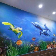 南昌墙绘彩绘涂鸦墙上绘画公司专业彩绘机构!
