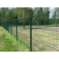 护栏墙 护栏铁丝网墙 现货绿色浸塑铁丝网墙 出厂价销售有意速联