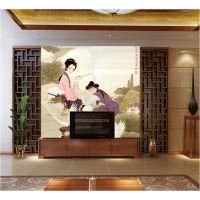 1612电视背景墙平板打印机 家装装饰平板打印机 厂家直销