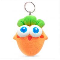 保卫萝卜公仔钥匙扣 阿波车钥匙挂件 毛绒玩具背包吊饰