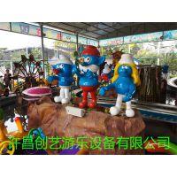牡丹江效益好轨道类16座亲子精灵王国游乐设备花海精灵厂价直销