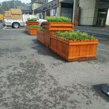 清远防腐木花箱厂家现货,高档花箱批量价优,品质保证