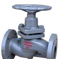 铸钢法兰蒸汽柱塞阀型号U41SM-16C 二通式柱塞阀