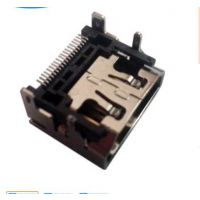 HDMI SMT母座19p贴片 焊接自动焊 电脑通讯设备