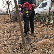 锋利冲击挖树机 苗木起树机