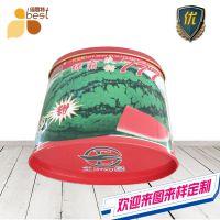 椭圆形铁罐 西瓜种子盒 瓜类种子包装盒定制