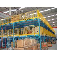 阁楼货架供应,中三层,承载800kg/㎡-里合货架