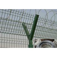 供应监狱围墙网 带刀片钢丝网 不锈钢刀片刺网【安平孟业刺绳厂家】