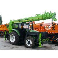 5吨8吨拖拉机改装四驱越野吊车