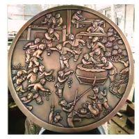 佛山鑫翔达精雕细琢铝板雕刻字壁画定制加工(厂家直销)