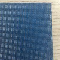 供应pvc网格布蓝色绿色高强纱围裙网格布 160g 网眼