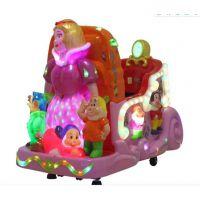 小狮王儿童电动摇摆机 游戏机小型儿童摇摇车 小兔子蜜蜂儿童投币摇摇车