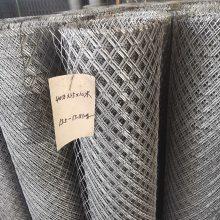 南昌护坡钢板网厂家&亚奇牌50*100孔菱形喷漆钢板网现货大全