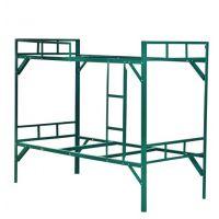 厂家热销高质量低价格 刷漆角铁床 上下铁架床 简约架子床 铁架床双层床