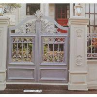 厂家定制英山铝艺大门欧式锻打庭院门进户门铁门金属不锈钢门