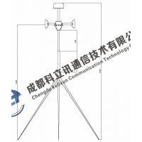 TN319 五通道双极化测向天线(30MHz-3GHz)