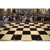 厂家直销 虹美 LED跳舞地板砖 LED黑白地板 跳舞星空地板砖 亚克力星光跳舞地板砖