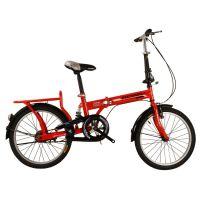 亿族厂家供应 12寸16寸20寸高碳钢折叠自行车 学生自行车 前V后抱