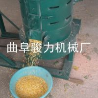 供应 新型玉米脱皮碾米制糁机 谷子水稻脱壳机 小米碾米机 骏力