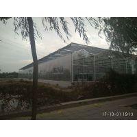 海南生态旅游玻璃温室大棚拉幕电机自动遮阳型工程建设厂家