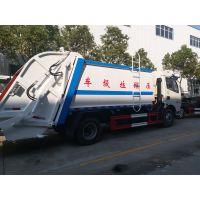 湖北东风 CY4BK551平头垃圾车 压缩式垃圾车 厂家报价