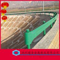 加强型道路栅栏 公路金属护栏 热镀锌公路防撞护栏板 非标定制Q235