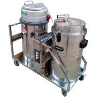 大量灰尘用工业吸尘器雕刻厂打磨车间用吸粉末吸尘器GSH-3000F
