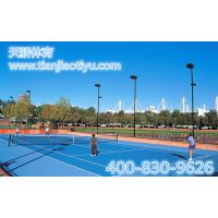 标准网球场造价 网球场地材料 室外网球场造价丙烯酸球场 网球场地示意图 丙烯酸地坪漆
