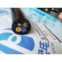 上海标柔耐弯曲耐磨聚氨酯加凯夫拉卷筒电缆厂家批发