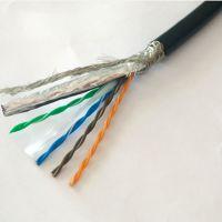 RSTRVV-STP4*2*0.5MM拖链高柔网线现货 超5/6类网线超柔防水防冻