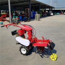 多功能大棚开沟培土机 农用施肥开沟机 圣鲁田园管理机