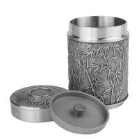 【货品全 品质优 货到付款】大马锡北京代理商专柜正品马来西亚原装进口锡器茶叶罐-竹子