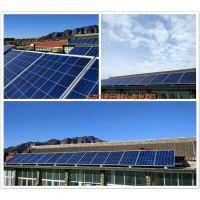 一带一路★沧州太阳能发电安装批发单晶硅290瓦安装100平米成本