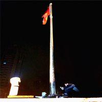 耀恒 浙江嘉兴商业广场不锈钢旗杆 16米大型商场广告旗杆