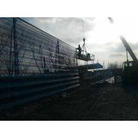 山东金属板圆孔防风抑尘网厂家安装施工-基础-钢架-挂网一站式服务