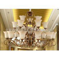 中元之光定制别墅新中式灯具灯饰设计定制生产加工