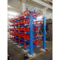 伸缩悬臂式货架销售 上海钢管货架设计 钢管仓库专用架 5吨悬臂架