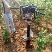 栽种苗木挖坑机 植树专用打洞机 工作效率高的钻洞机