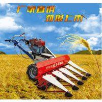 小麦打捆收割机 自动化手扶割晒机 青草秸秆割晒机报价