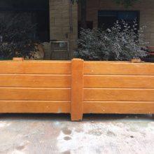厂家供应CS-2201水泥仿木花盆,驰升仿木花箱,外观精美,造型多样