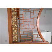厂家直销楼梯扶手铝格栅-喷粉阳台护栏铝窗花