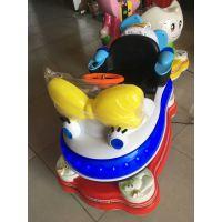 新款儿童电动投币摇摇车 摩托车摇摆机 商场超市游戏机电玩摇摇车厂家